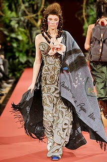 Vivienne Westwood Fall 2008 7 celtic tribal wear