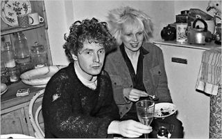 Mclarenwestwood-blog at the home of caroline coon for christmas dinner 1976