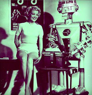 Garco jane Mansfield54p1x640 sci fi movie gog 1954-pola